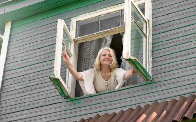 Install window treatments