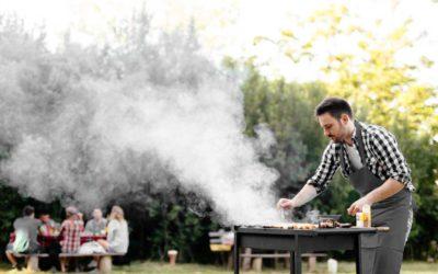 Cook outside